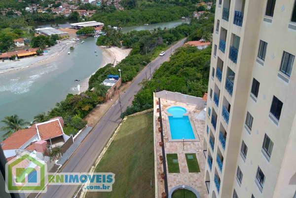 Apartamento com vista em Pirangi 77 m2
