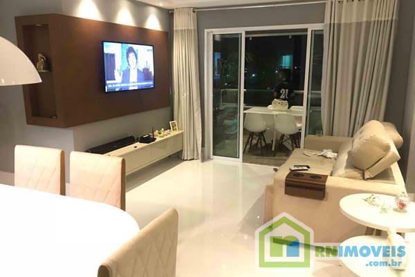 Apartamento no Corais de Lagoa Nova 123 m2
