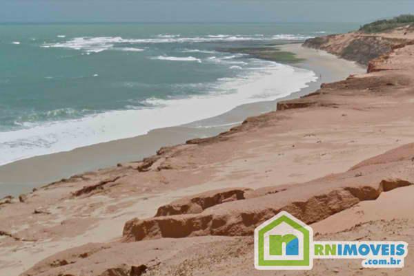 Terreno na praia de Sibaúma 1400 m2