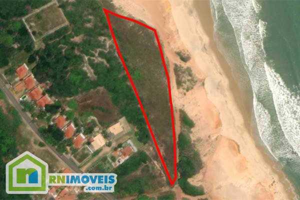 Terreno beira mar na Barra de Tabatinga para ALUGAR