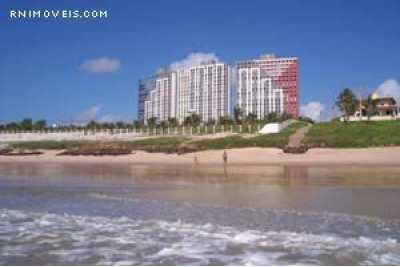 Vista dos apartamentos a partir da praia.