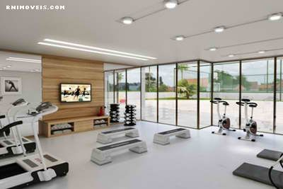 Sala de ginástica fitness