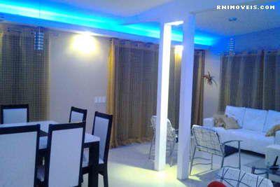 Sala com iluminação especial