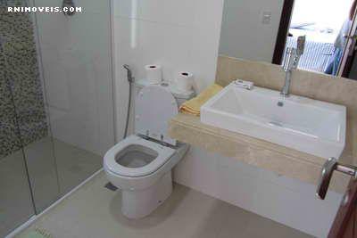 Banheiro do quarto de hóspedes