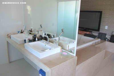 Banheiro na suite master