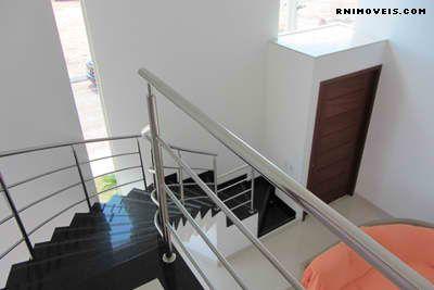 Escada para o piso superior