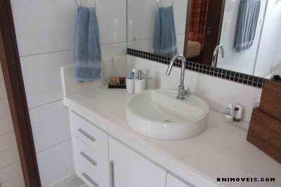 Banheiro no piso superior