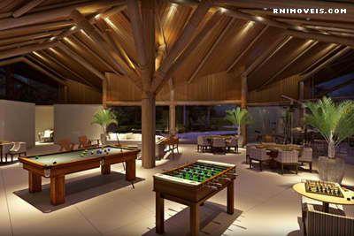 Bosque da Praia Jacumã - salão de jogos para adultos