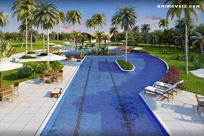 Bosque da Praia Jacumã piscina