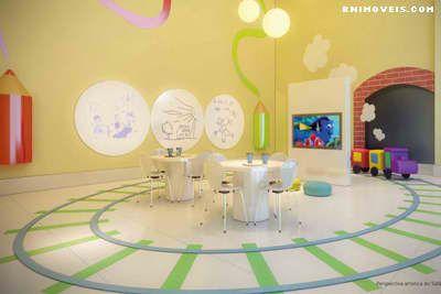 Salão de jogos kids