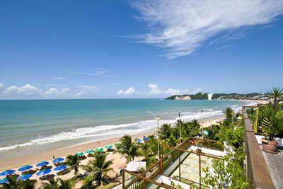 Flats beira mar na praia de Ponta Negra 40 m2