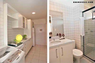 Cozinha, banheiro