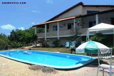 Casa em pipa com terreno e piscina
