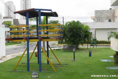 Jardim e playground