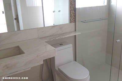 Banheiro do quarto rosa