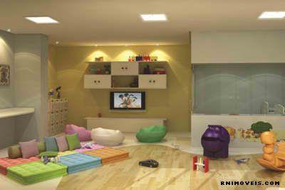 Brinquedoteca com child care