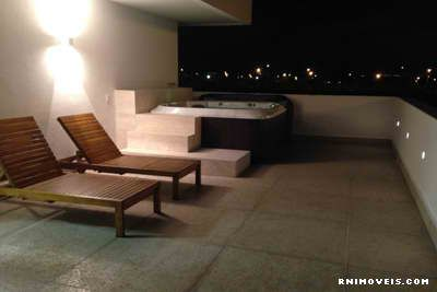 De noite no terraço...