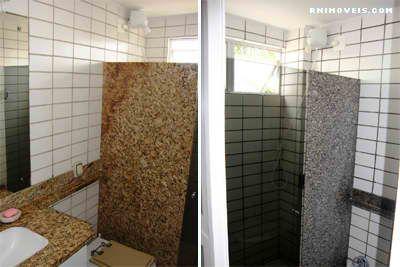 Banheiro social e da suíte