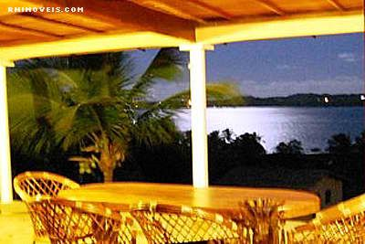 Vista para a lagoa de Guaraíras