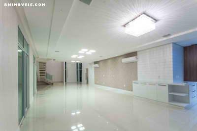 Um grande salão para vários ambientes