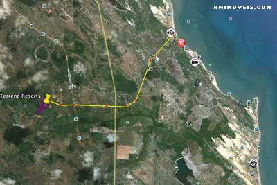 Terreno com projeto em Caraubas