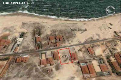 Terreno na praia de Graçandu 1230 m2