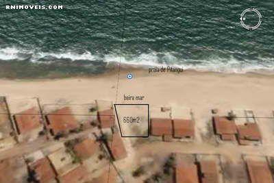 Terreno na praia de Pitangui 660 m2