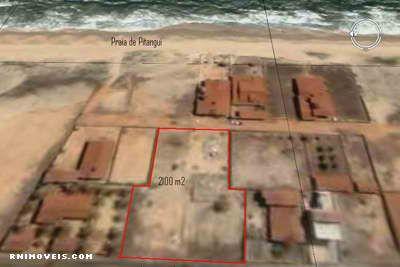 Terreno na praia de Pitangui 2100 m2