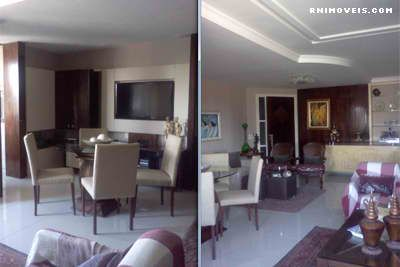 Ampla sala para vários ambientes