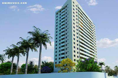 Apartamento Assuncion Gili em Capim Macio 90,61 m²