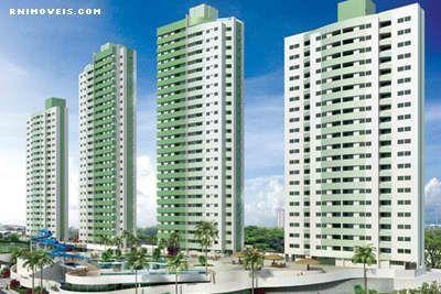 Apartamento no Luau de Ponta Negra 130 m2