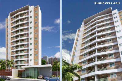 Apartamento no Solarium Candelária 77 m2