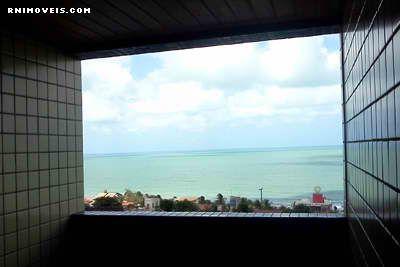 Varanda com vista de mar