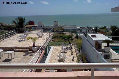 Hotel em Ponta Negra com vista de mar