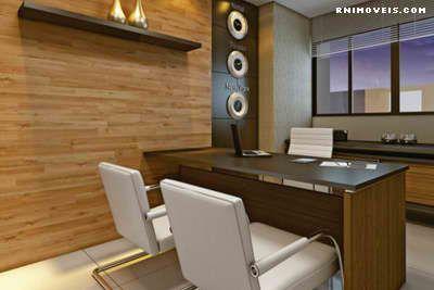 Sala de reuniões, home office
