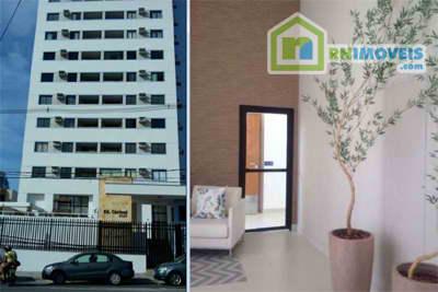 Apartamento em Lagoa Nova no Carmel 54 m2