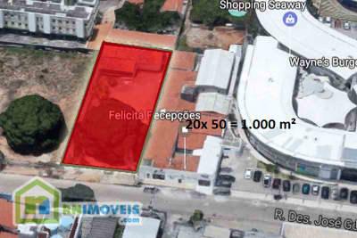 Terreno em Capim Macio 1000 m2