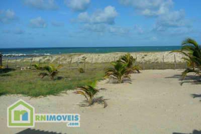Terreno na praia de Barreta 1350 m2