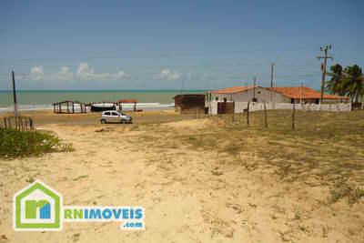 Lotes beira-mar em Carnaubinha Touros 3000 m2
