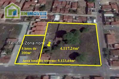 Terreno na Zona Norte 5123 m2