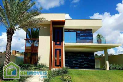 Casa no Condomínio Vila dos Lagos em Ponta Negra